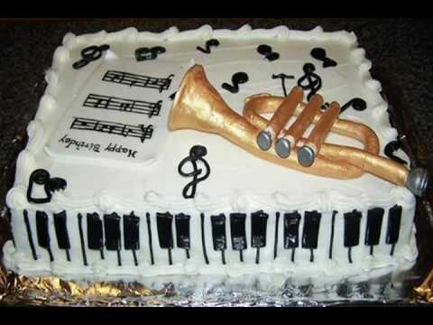 Birthday Cake for the Musical Child!