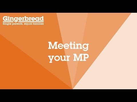 Meet with your MP - Gingerbread's Campaign Toolkit
