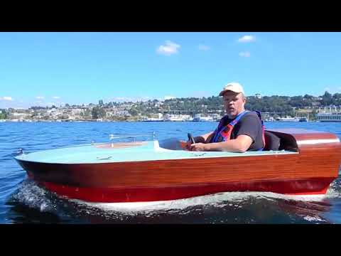 Andrew Jones Maiden voyage on his Electric boat