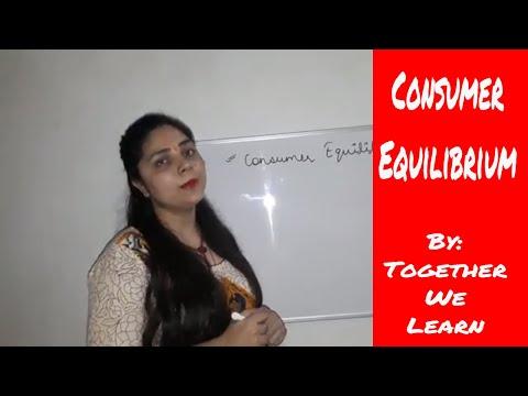 Consumer equilibrium class 12