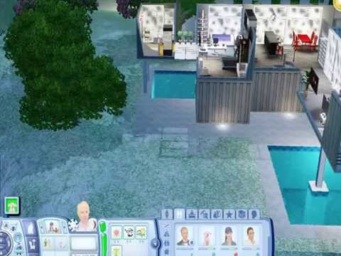 Alien Abduction Footage in Sims 3