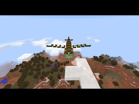 Working B 29 Bomber (No mods! No Command Blocks!)