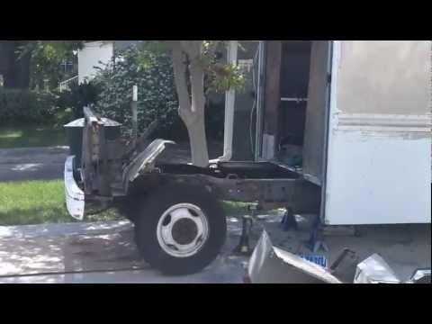 Step-van to trailer conversion Phase2