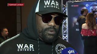 Download 'WE CAN DO THE FIGHT!'- Chisora reacts to speculation he could step in for Jarrell Miller to face AJ Video