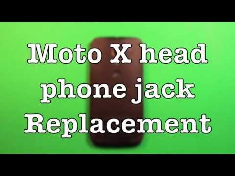 Moto X Headphone Audio Jack Replacement How To Change