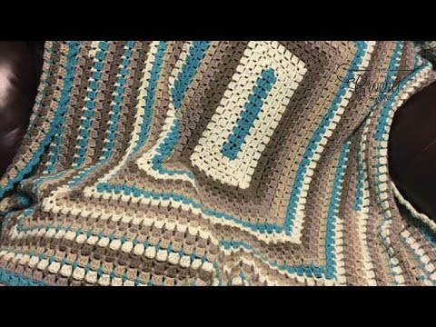 How to Crochet an Afghan: 🍰  Modern Granny