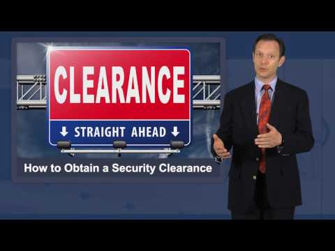 How to Obtain Security Clearance