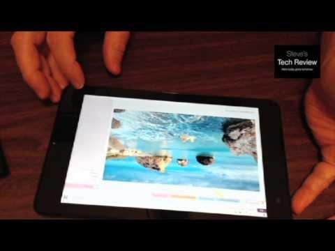 Dell Venue 8 Pro Screen Capture Options