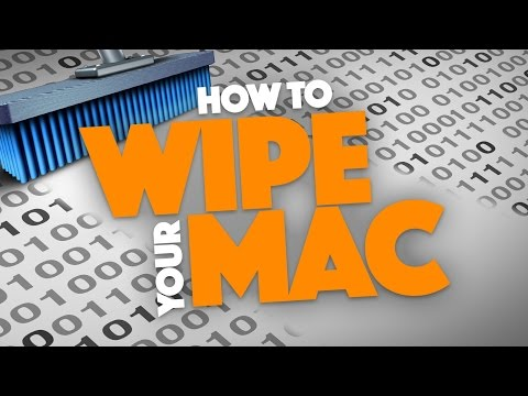 WIPE the Data From Your Mac! - Two Methods!
