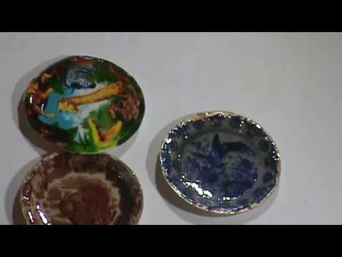 Plate Shaper for Miniature Dollhouse