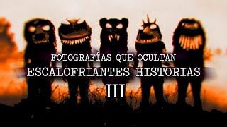 SUSCRÍBETE: http://goo.gl/jTAhUo Mi Facebook: http://goo.gl/ocxs6l Mi Twitter: http://goo.gl/ewiUw3 ESTAS FOTOGRAFÍAS ESCONDEN ESCALOFRIANTES HISTORIAS III
