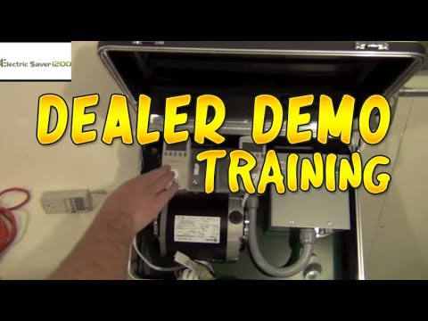How To Reduce Kilowatt Usage (Dealer Demo Kit Training)