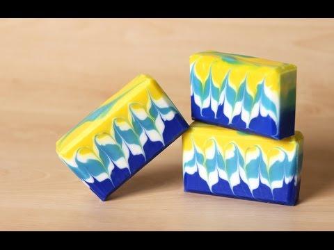 How to Make Hanger Swirl Soap