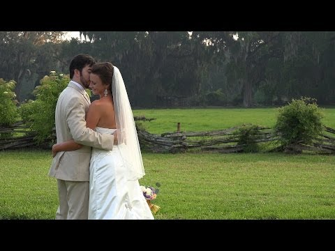 Charleston Wedding Video at Magnolia Plantation and Middleton Place