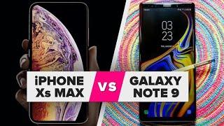 iPhone XS Max vs. Galaxy Note 9: Spec comparison