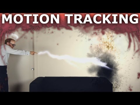 After Effects Motion Tracking How To - Visual Effects 101