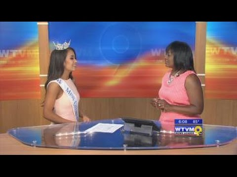 LIVE with the new Miss Georgia 2016 Patricia Ford (6/19/16)
