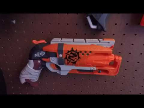Nerf Gun Display Wall - How to Display your Nerf Collection