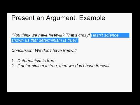 Present, Explain, and Evaluate - Writing a Short Philosophy Paper
