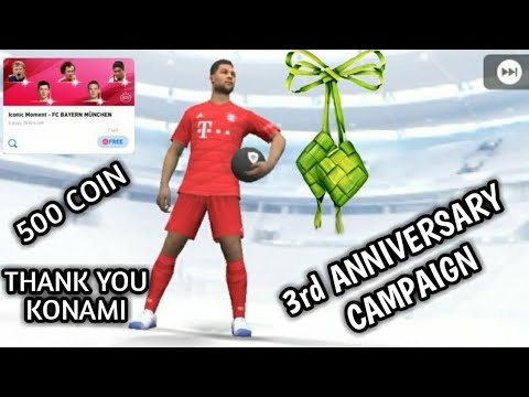 FREE ICONIC MOMENT PACK & 500 COIN FOR ICONIC MOMENT BAYERN MUNCHEN | PES 2020 MOBILE PACK OPENING