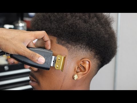 Haircut:  Low Fade On Najarie Smith