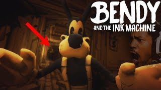 THIS IS THE BEST CHAPTER... BORIS BEHIND YOU! | Bendy and The Ink Machine (Chapter 3)