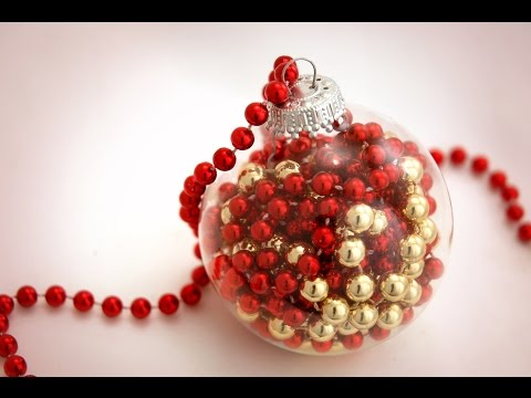 How to Make a Bead Garland Christmas Ornament