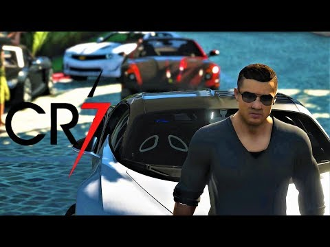 RONALDO'S LUXURY CAR MEET | CR7 | GTA V