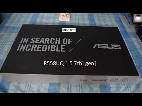 Asus R558UQ (best budget laptop for gaming and editing}