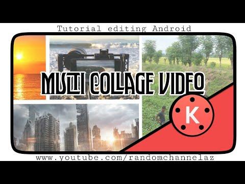 Cara editing Multi Collage video di kinemaster