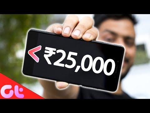 TOP 5 BEST PHONES UNDER ₹25000 (2018)