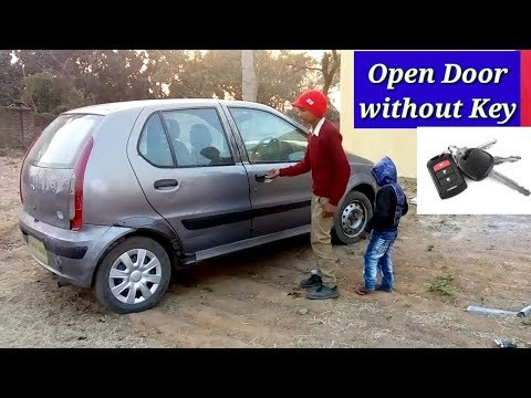 How to unlock car door without key || only 2 minutes ||
