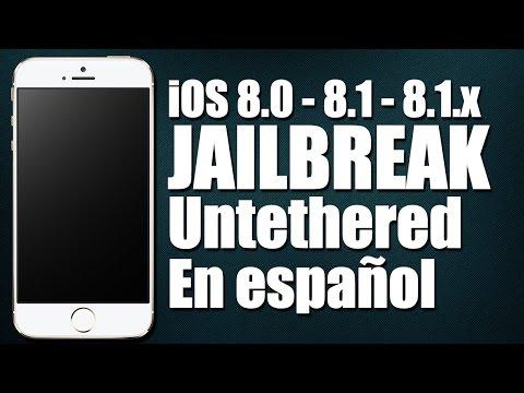 Tutorial: iOS 8.0 - 8.1 - 8.1.x Jailbreak Untethered - iPod iPhone iPad - (En español - SUPER FÁCIL)