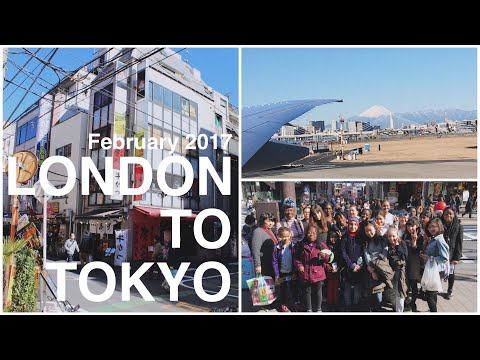 Day 1 Of MY JAPAN TRIP - LONDON TO TOKYO! (12 hour Flight, Manga & More)
