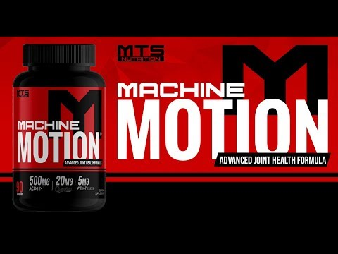 Machine Motion - The Most Advanced Joint Care Formula Ever!