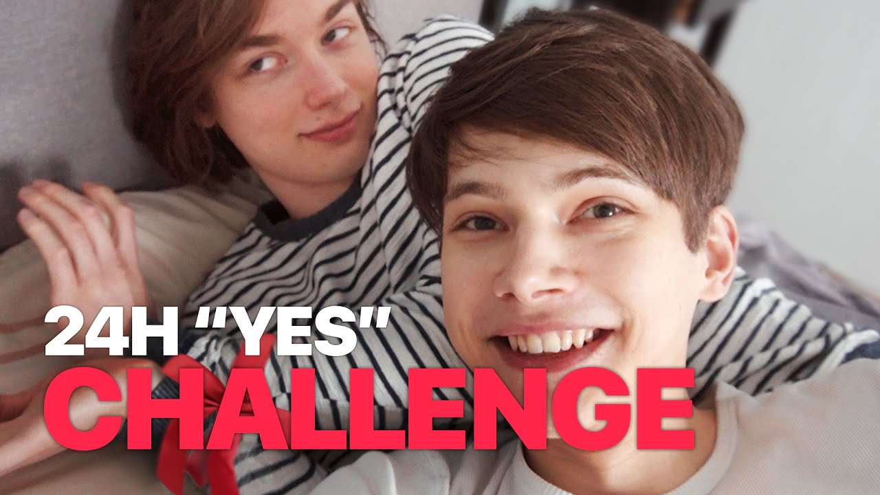 """24 Hours """"YES"""" to my Boyfriend! — Couple Challenge"""