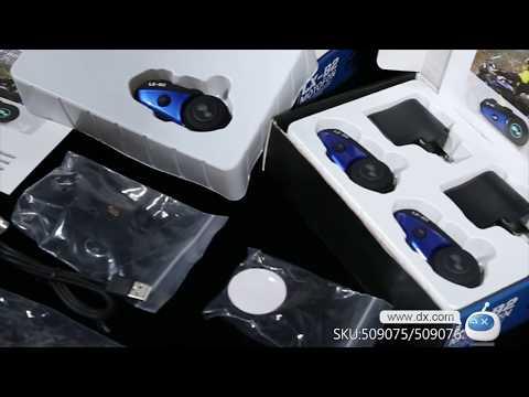 Accessories display-Lexin B2 Motorcycle Bluetooth Helmet Headsets BT Wireless Interphone - 2PCS