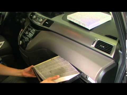 Change 2012 Honda Odyssey Cabin Air Filter