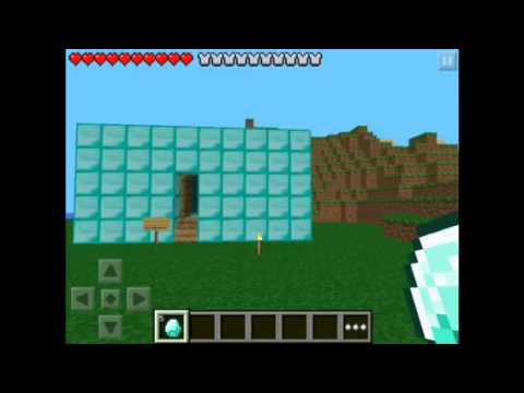 How to Double Diamonds in Minecraft PE