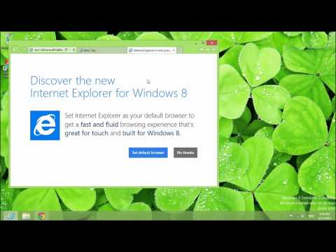 Getting Started with Windows 8: Changing the Default Browser