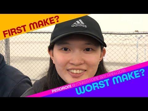 First Make & Worst Make Andrea, UCDavis EE Emerge Engineer