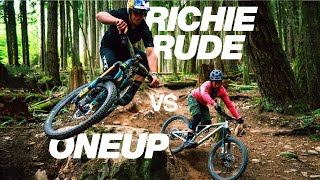 Can a Pro Mountain Biker pass 6 riders on their local trail?