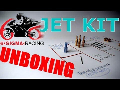Bike carb jet kit unboxing