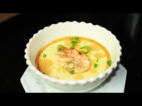 Steamed Egg Custard Recipe /鸡蛋羹