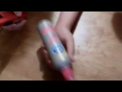 lighting hairspray on fire