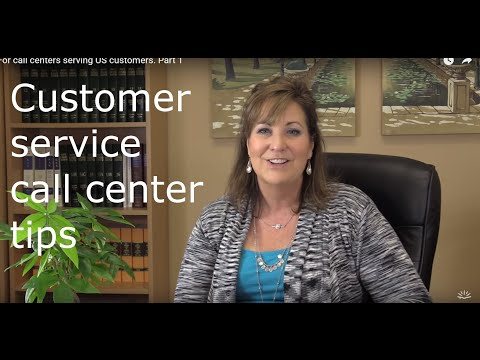 Customer service call center tips -Part 1