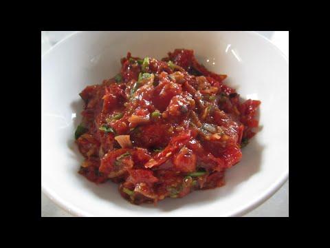 How to make JEOW MAK LEN | Roasted Tomato Salsa | House of X Tia | Lao Food
