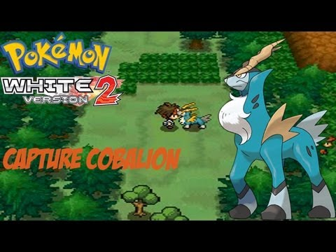 Pokemon White Version 2 Boss Battle Run - Capture Cobalion