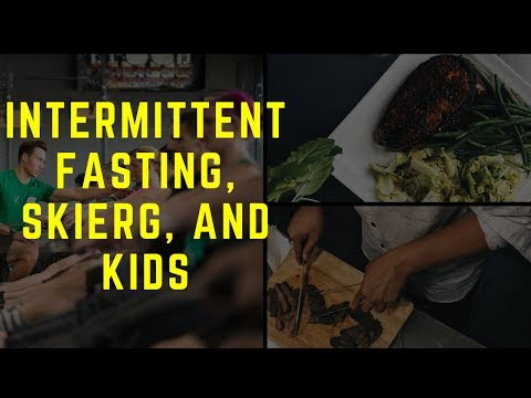 How I Eat for Intermittent Fasting, Avoiding Dadbod and the Concept2 BikeErg