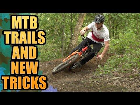SHREDDING MTB TRAILS AND SOME NEW TRICKS!